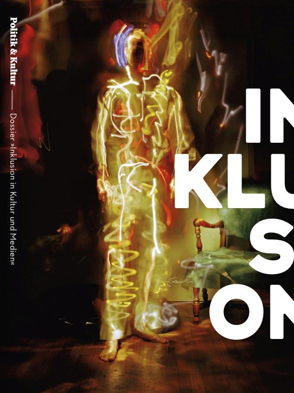 Titelseite des Dossiers Inklusion der Zeitschrift Politik & Kultur